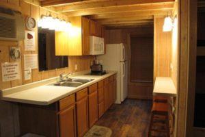 Kitchen sink and refridgerator